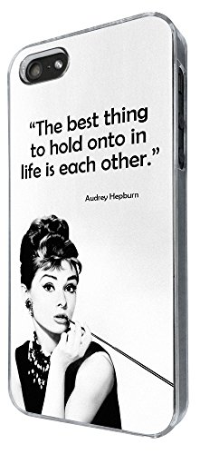 728 - Life Quote The Best Thing To Hold Onto In Life is each Other Design iphone 4 4S Coque Fashion Trend Case Coque Protection Cover plastique et métal