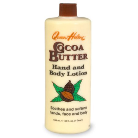 QUEEN HELENE Cocoa Butter Hand and Body Lotion 32 oz (Pack of 4) WLM by Queen Helene