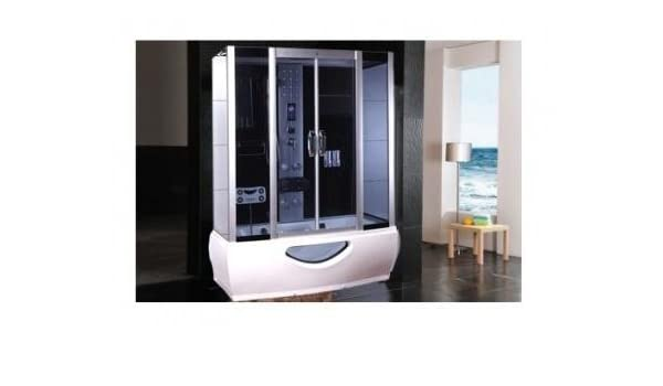 Cabina de ducha hidromasaje Sauna Baño Turco 170 x 85: Amazon.es ...