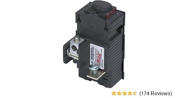 BullDog Electric P120 1 Pole 20A Pushmatic Breaker **Free Shipping**