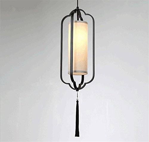 LUCKY CLOVER-A Chinese Classical style Fashion Lattice Wicker Metal Art Ceiling Pendant Light Lantern Lighting(Double cheaper) , A (Spray Furniture Resin For Paint Wicker)
