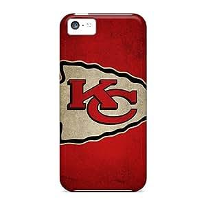 Iphone 5c ZMf10066gtUT Custom Stylish Kansas City Chiefs Skin Shock Absorbent Hard Cell-phone Cases -PhilHolmes