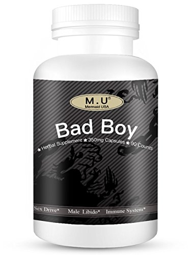 Bad Boy M.U Mermaid USA Sex Pills for Men Support Male libido Sex Drive Supplements