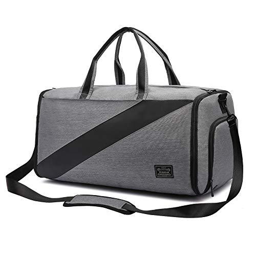 (carryon suit garment bag,foldable suit travel bag convertible luggage duffel gym garment bag with shoulder strap for men&women)