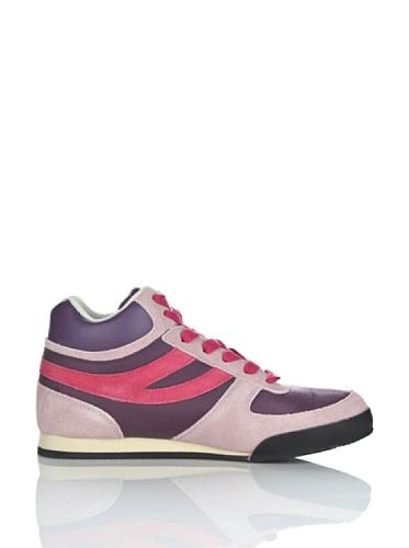 Sneakers - 4430-suecordu Prune-AnRose-Raspber