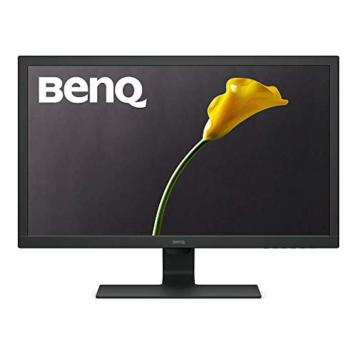BenQ GL2480HM 24 Inch 1080p Gaming Monitor, HDMI, DVI, Built-In Speakers, Eye Care Technology, Low Blue Light, ZeroFlicker, Energy Star Certified Monitor, VESA mountable