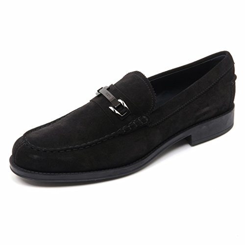 Shoe Loafer Scarpa Macro Nero B8359 Clamp Uomo Tod's Man Mocassino qttwv08