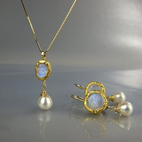 Wedding Jewelry Set Gold