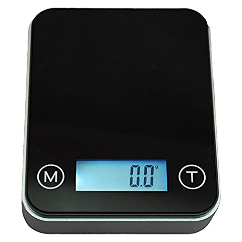 Smart Weigh High Precision Digital Mini Pocket Scale with Backlit LCD Display, Personal Jewelry and Medicine Weight Measurements, Measure Gold, Gems, Diamonds, 100g x 0.01g, Black