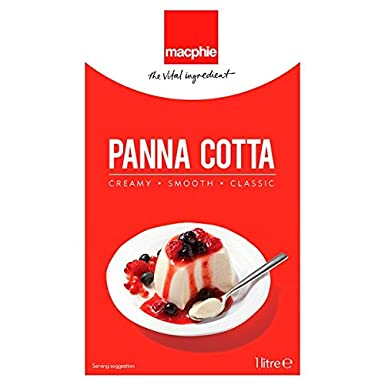 Macphie Panna Cotta 1 Litro (Pack de 12 x 1ltr)