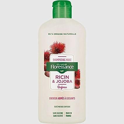 floressance por naturaleza Champú Aceite ricino/Jojoba 250 ...