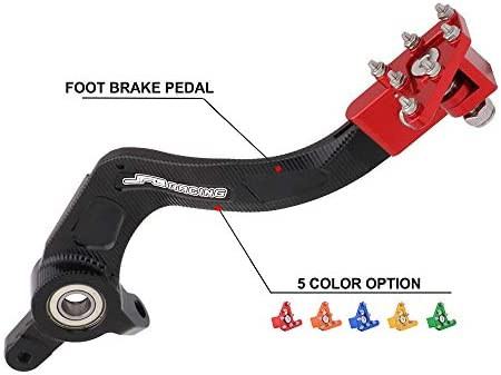 Fast Pro CNC Rear Brake Pedal Step Plate Gear Shifter Shift Lever Tip For KTM 125-530 SX EXC XCF XC XCW SXF SMR 2004-2010 Enduro Supermotor 690 DUKE Adventures Orange