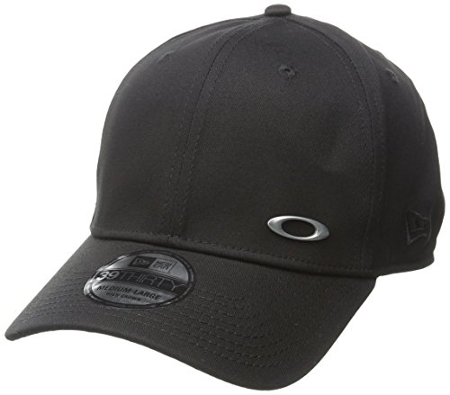 Oakley Men's Tinfoil Cap, Black, - Black Hat Oakley