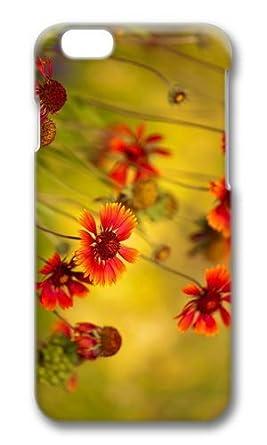 Mokshop Cool Rot Blumen Hintergrundbild Hard Case