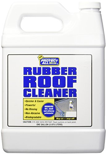 Roof Rv Care Rubber - RV Rubber Roof Cleaner - Non-Toxic, Non-Abrasive RV roof detergent 1 Gallon - Protect All 67128