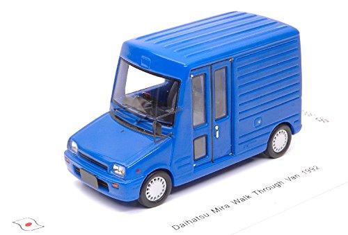 DAIHATSU MIRA WALK THROUGH VAN 1992 blu 1 43 - Spark Model - Auto Stradali - Die Cast - Modellino