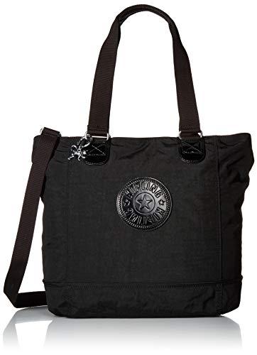 - Kipling womens Shopper Combo Tote Bag,  Black, One Size