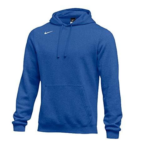 - Nike Men's Club Fleece Hoodie (X-Large, Varsity Royal)