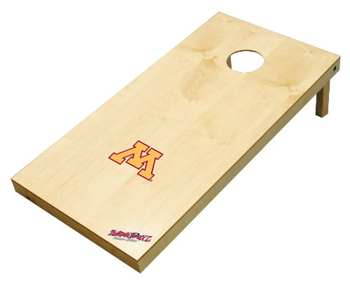 Wild Sports NCAA College Minnesota Gophers 2' x 4' Authentic Cornhole Game Set