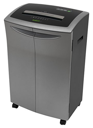 GoECOlife GMC121Ti 12 Sheet Micro-Cut Paper Shredder, Platinum Series Shredder