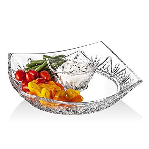 Godinger Dublin Chip and Dip Platter (Godinger Serving Platter)