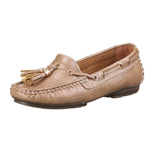 Ital-Design - Zapatos Mujer Marrón - caqui
