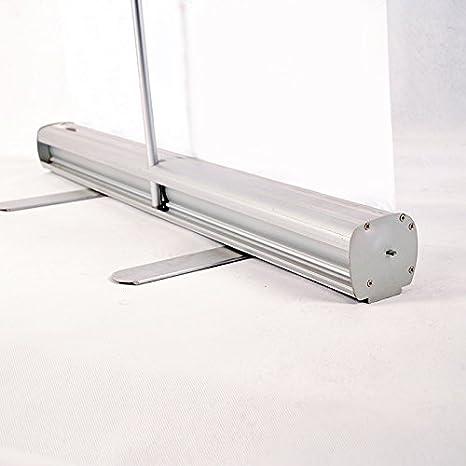 S/éparateur Protection de Bureau Anti-Contamination Contre microbes Displaysign Roll Up Banni/ère Transparent 85x200 cm Paravent