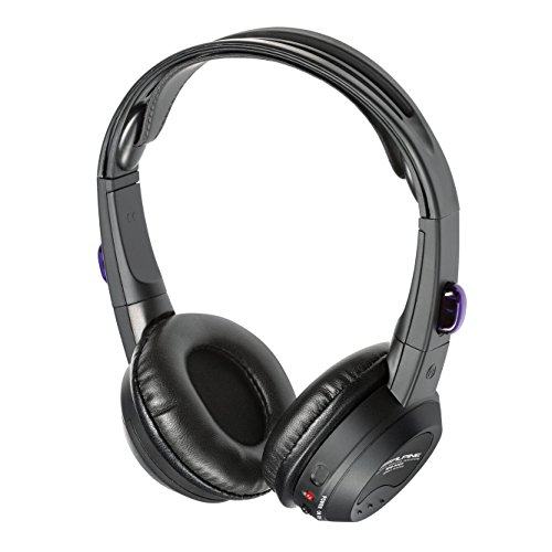 Alpine SHS-N107 Single Source Wireless Automotive Infrared Stereo (Single Source Wireless Headphones)