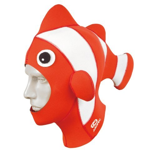 Diver Suit Costume (Hammerhead Clownfish Costume XL Hood Waterproof Scuba Diving Freediving Spearfishing Gear)