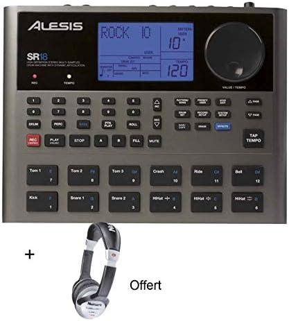 Pack Alesis SR-18 – Caja de Ritmos incluye casco: Amazon.es ...