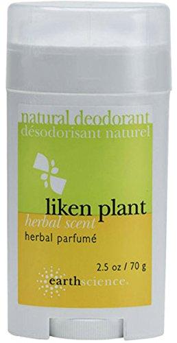 - Earth Science Liken Plant Natural Deodorant Herbal Parfume -- 2.5 oz