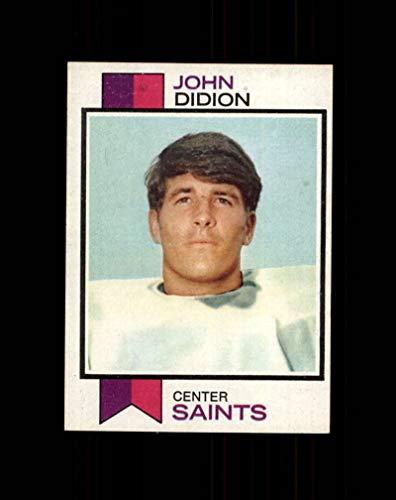 1973 Topps Football #192 John Didion STARX 6.5 EX/MT+ CS47565