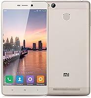 "Xiaomi Redmi 3 Pro - 32GB Smartphone libre 4G Lte (Pantalla 5.0"", Cámara 13Mp, Octa-core 1.5GHz , 3GB de RAM, Lector de huellas dactilares), Dorado"