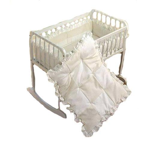 Babydoll Waffle Fleece Cradle Bedding, 18'' x 36'' by Baby Doll