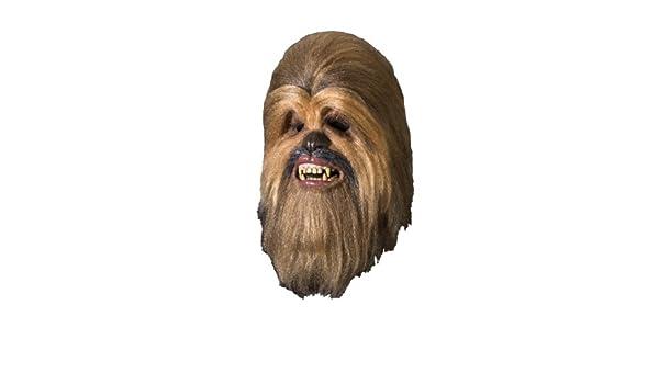 Máscara de lujo de Chewbacca de Star Wars para adulto: Amazon.es: Juguetes y juegos