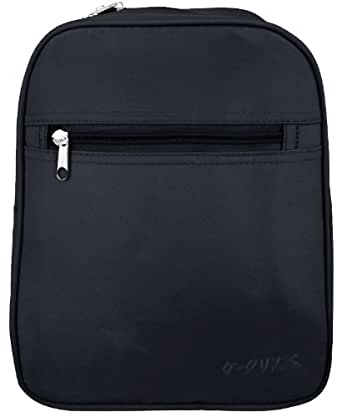 Black Mini Backpack for Elementary School Students and Kindergarten Kids
