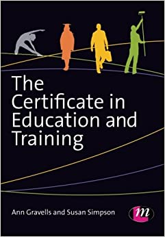 the certificate in education and training amazoncouk