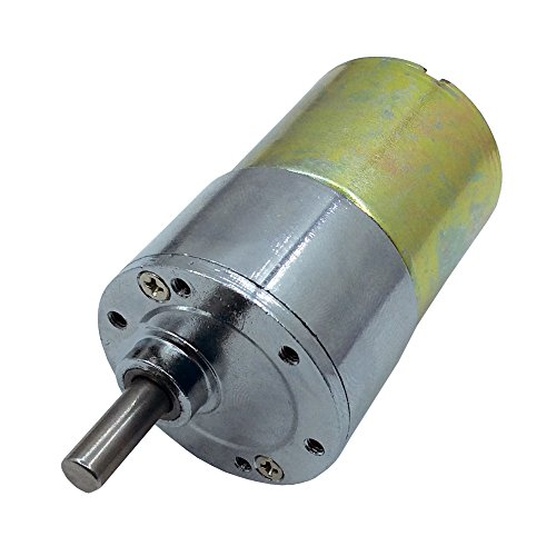 60RPM Mini Gear Box Electric Motor 12V DC 37MM High Torque - 7
