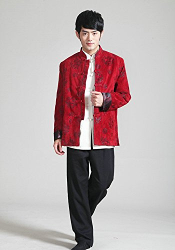 Wool Tang Suits Retro Jackets cotton-padded jacket Business Jackets Full Dress by Winter Tang Suit (Image #4)