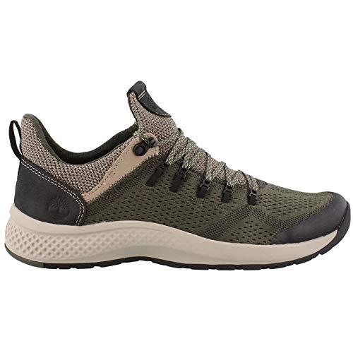 (Timberland Men's, FLYROAM Trail Sneakers Dark Green 12 M)