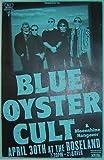 #6: Blue Oyster Cult 4/30 Roseland Concert Tour Poster