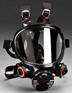 3M 7000 Series Full Facepiece Respirators (Medium)