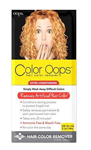 Color Oops Extra Conditioning Hair Color Remover, Pac