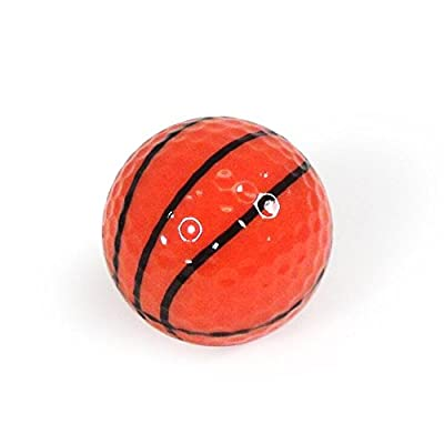 Golf Balls, Nitro Novelty Basketball, 3 Pack, Orange