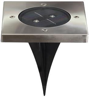 Frisch Ranex 5000.198 LED Solar Bodeneinbaustrahler, 4-eckig: Amazon.de  VU49