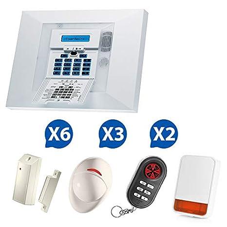 De alarma inalámbrico Visonic PowerMax Pro NF & a2p-01