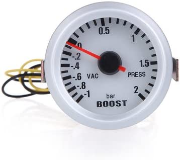 Kkmoon Turbo Boost Vacuum Press Gauge Meter For Auto Car 2 52mm 1 2bar Blue Led Light Auto