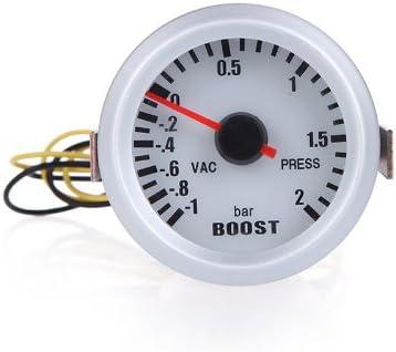 KKmoon Manómetro Presión Turbo Boost Medidor Indicador de Presión 52mm 2
