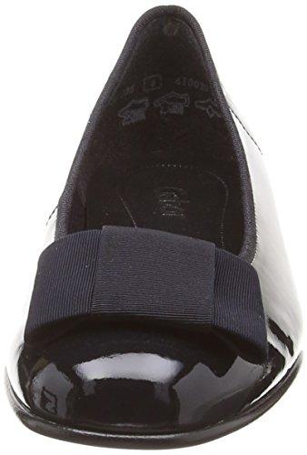 Gabor Fashion 05.100 Signore Ballerine Blu (brevetto / Strappi)