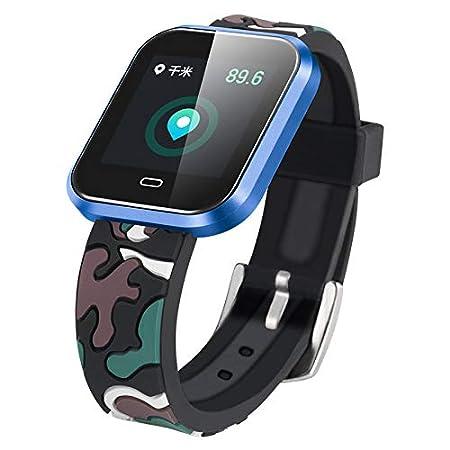 Cebbay Reloj Inteligente Pulsómetro Monitor de sueño,Podómetro ...